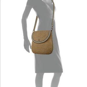 Eric Javits Crossbody Demi Flap Pouch Bag